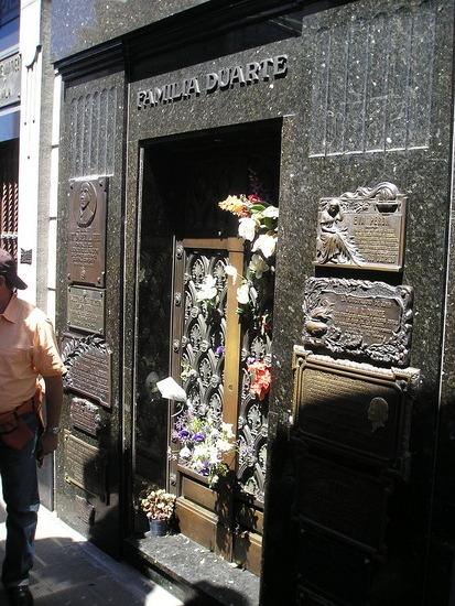 Recoleta Cemetery - Evita's family's mauseleum