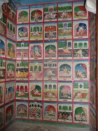 Dungapur - Jama Mahal - Kama Sutra miniatures