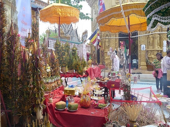 Tuk-tuk outing - Phnom Sampov 4