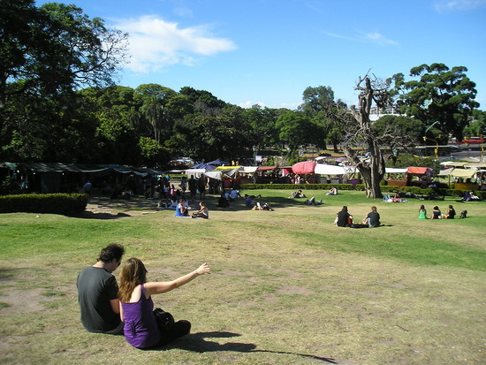 Recoleta District - Park and weekend market