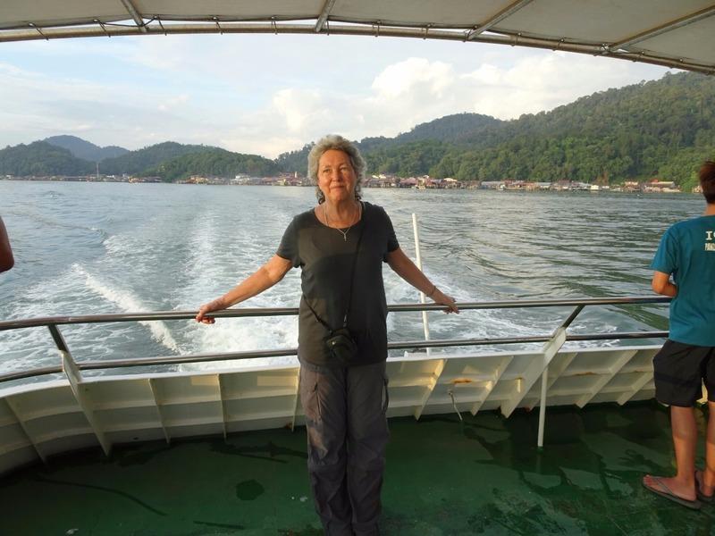 Leaving Pangkor for Lamut