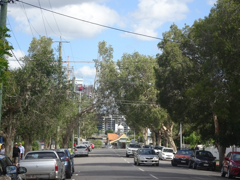 Bulimba - Oxford Street down to ferry stop