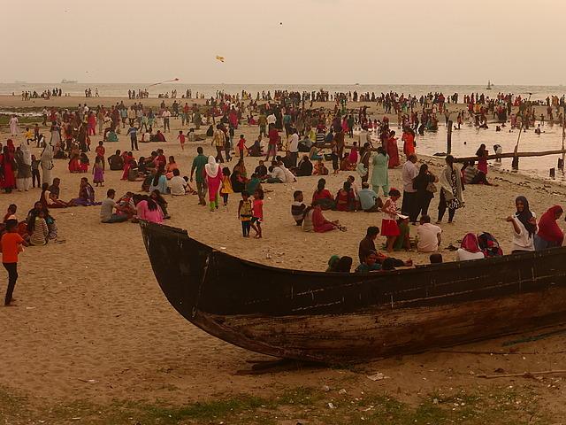 Cochin - Sunday at sunset time!
