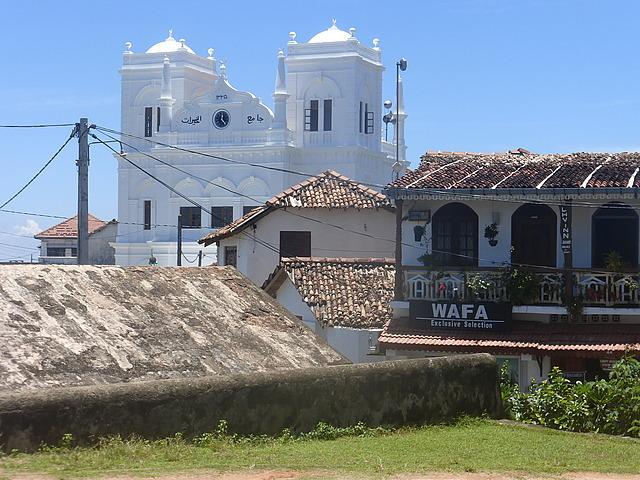 Megran Jumma mosque and roofs