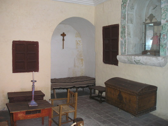 Santa Caterina - Nun's cell - Living area