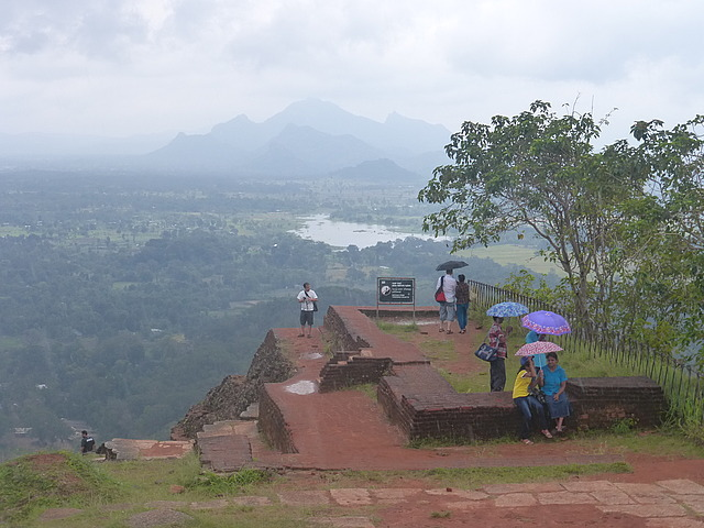 Top of Sigiriya rock 3