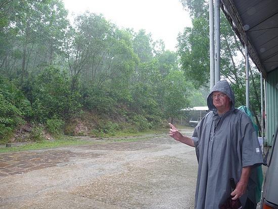 My Son in the rain 1