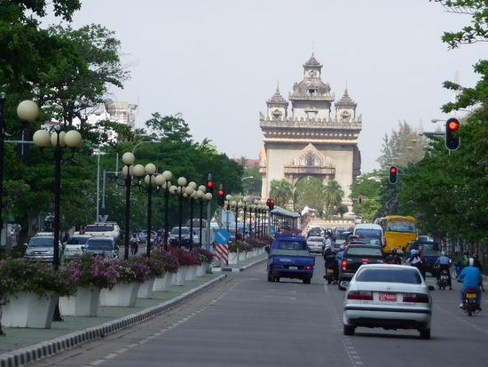 Vientiane - Champs Elyses?!