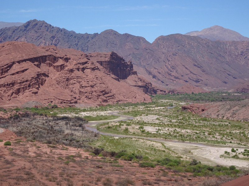 On the way to Cafayate - Quebrada de las Conchas