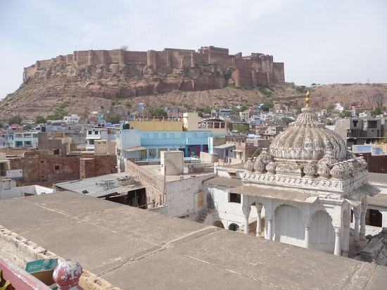 Hotel Pal Haveli - view from roof - Fort