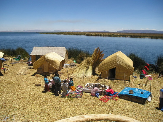 Uros - Floating Islands trip 9