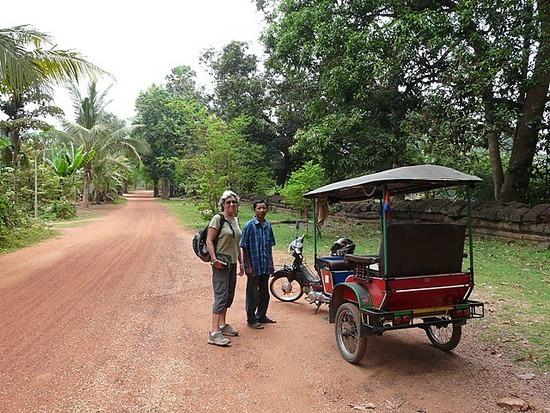 Comfy Tuk Tuk for temple trips