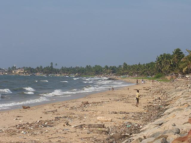 Negombo Town Beach