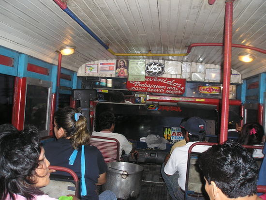 Quistococha  Lake Trip - Return on local bus