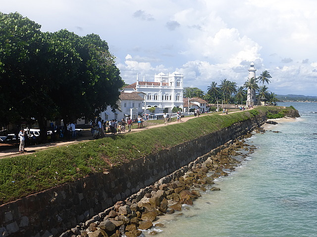 Galle Fort - southern ramparts