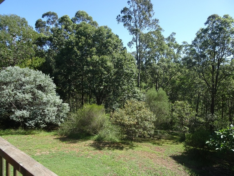 Cousin's house - view from veranda
