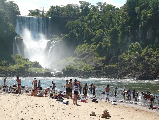 Iguazu Argentina San Martin Island Beach