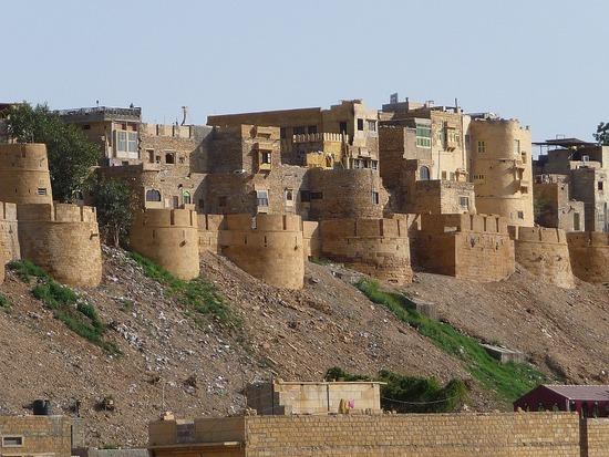 Jaisalmer Fort detail