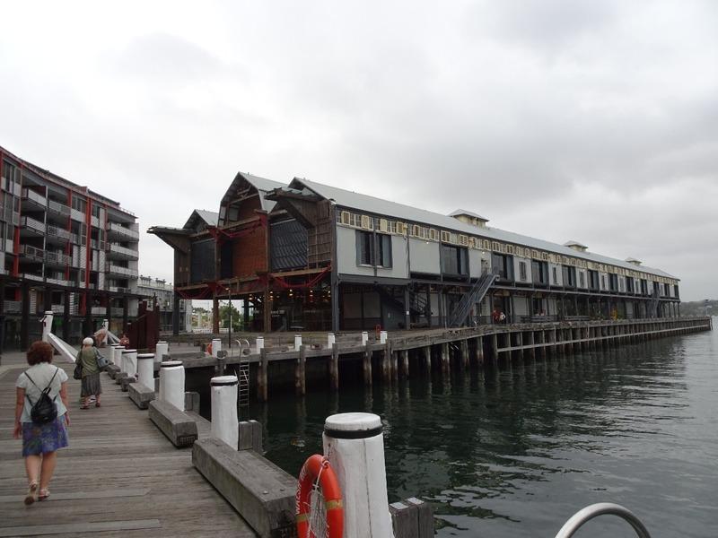 Wharfs area