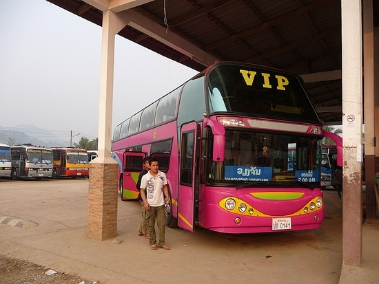 Luang Prabang to Vientiane by VIP bus!