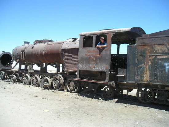 uyuni - trainspotting - I always preferred steam!