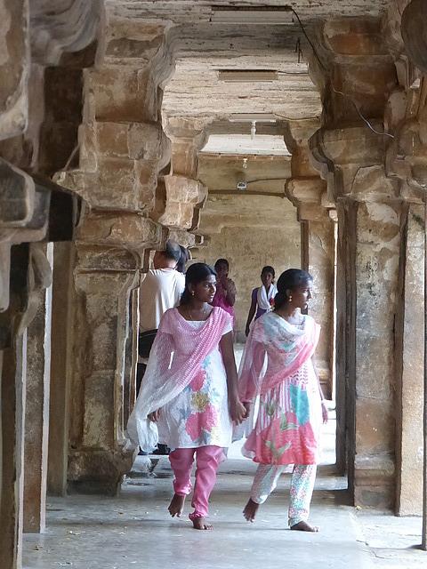 Big Temple - colonnades