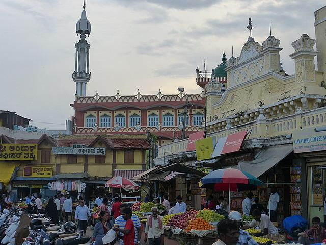 Buildings south of Devajera market