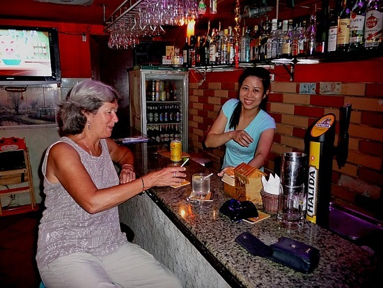 Apero time at Pinky Bar 1
