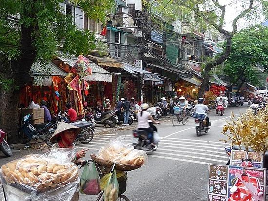 Around Hanoi Old Town again 2