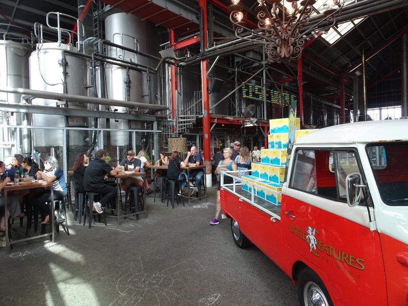 Fremantle - Little Creatures brewery complex
