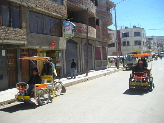 Puno Transport - I thought rickshaws were in Asia