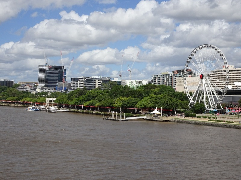 South Bank from bridge