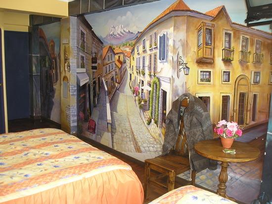 La Paz - Hotel room!