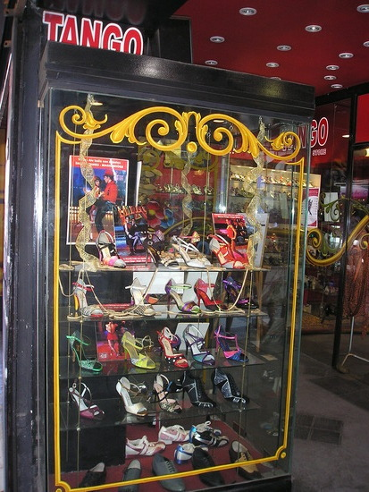 BA - Tango shoe shop !