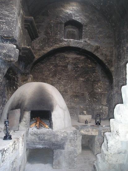 Santa Caterina  - Nun's cell - cooking area