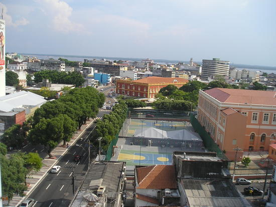 Manaus - view fron 8th floor hotel room