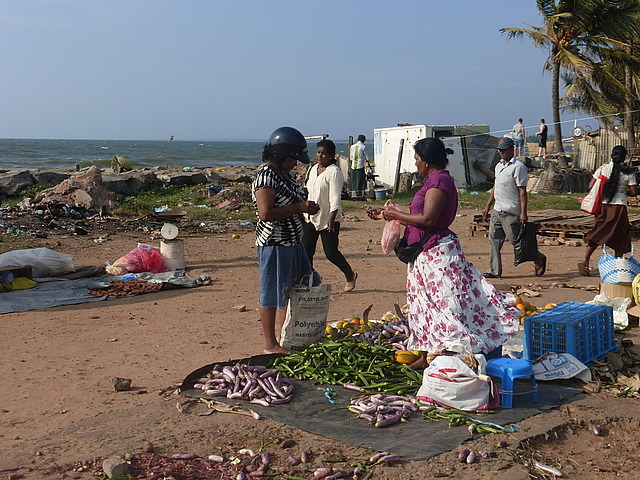 Negombo town market by the sea 3