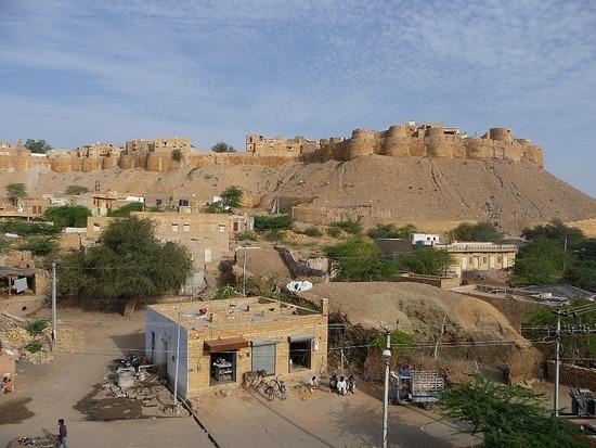 Jaisalmer Fort from Hotel