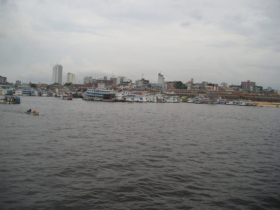Manaus arrival
