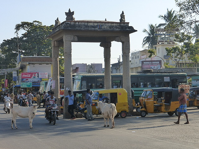 Village centre - by bus stand