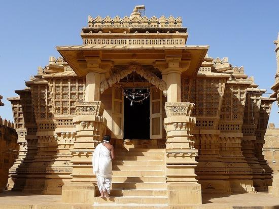 Around Jaisalmer - Loderwa Jain Temples 1