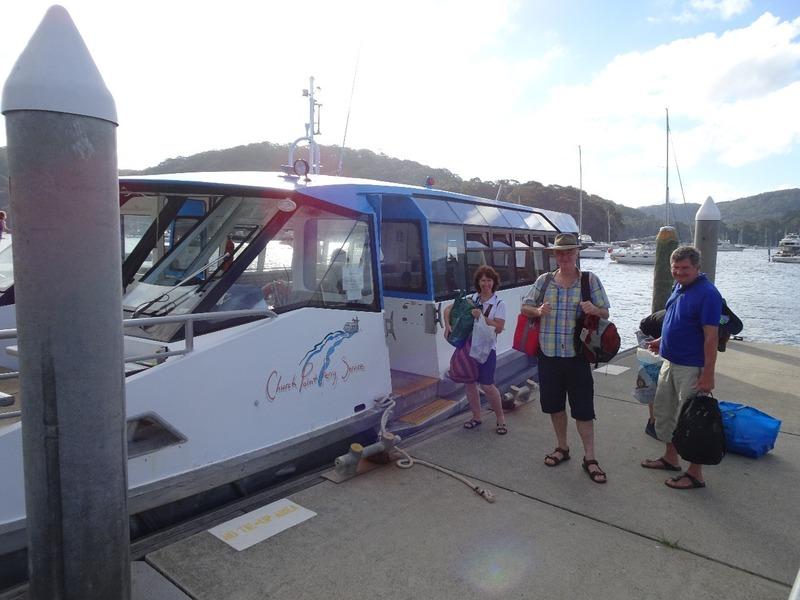 Church Point - Boat transport