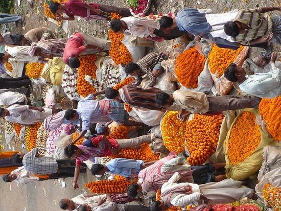 Market area near Hourah Bridge 2