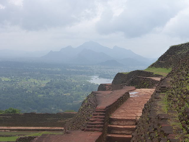 Top of Sigiriya rock 2
