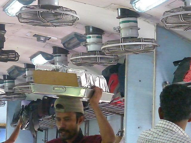 "Meal seller on train ""Biryani anyone?!"