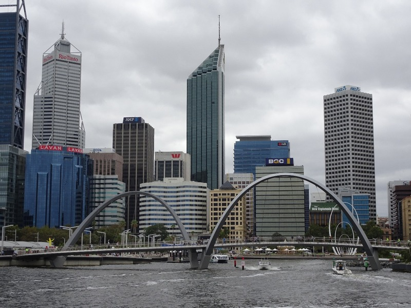 Boat outing up Swan river - Elizabeth Quay, Perth
