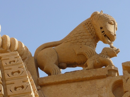 Around Jaisalmer - Amar Sagar Jain Temple 3