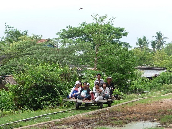 Tuk-tuk outing - Bamboo train 3