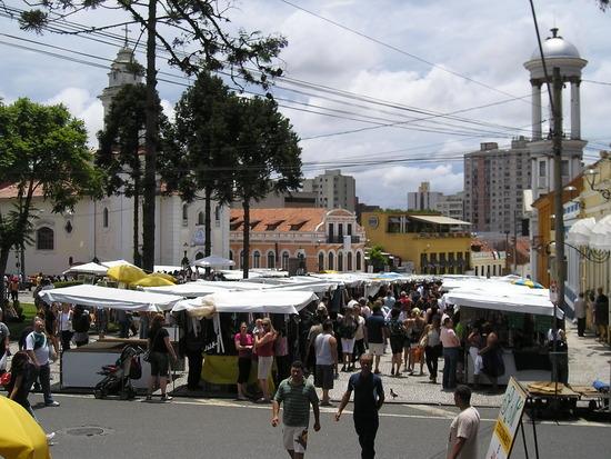 Curitiba - Historic area - Sunday market 3