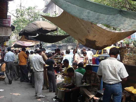 Colonial District - Street foodstalls